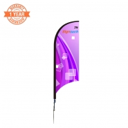 Wave 7FT  Feather Flags Kits